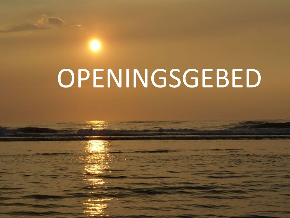 OPENINGSGEBED