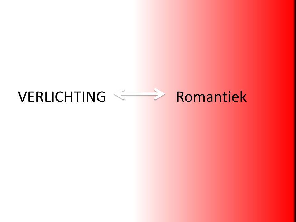 VERLICHTING Romantiek