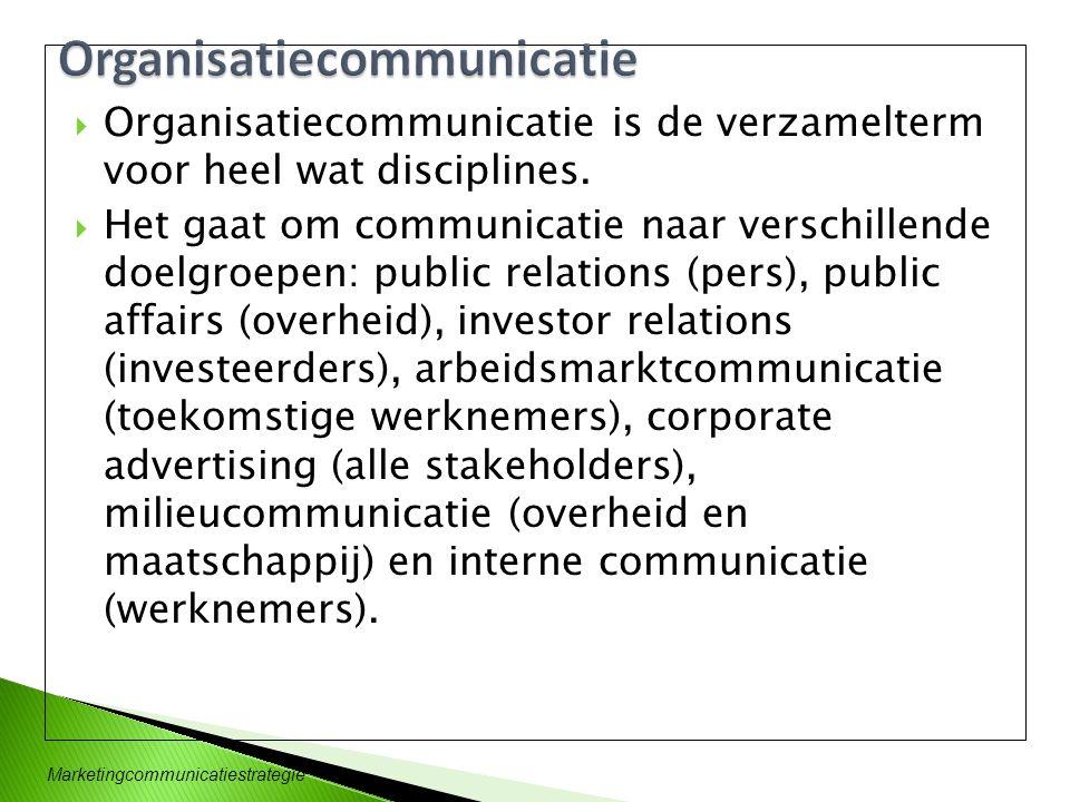 Organisatiecommunicatie