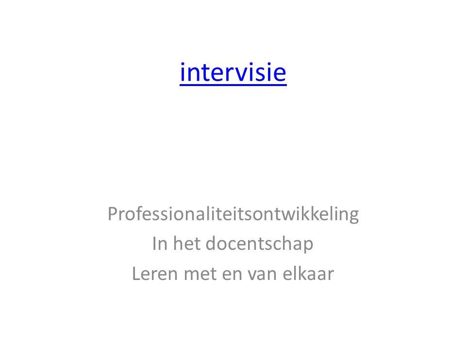 Professionaliteitsontwikkeling