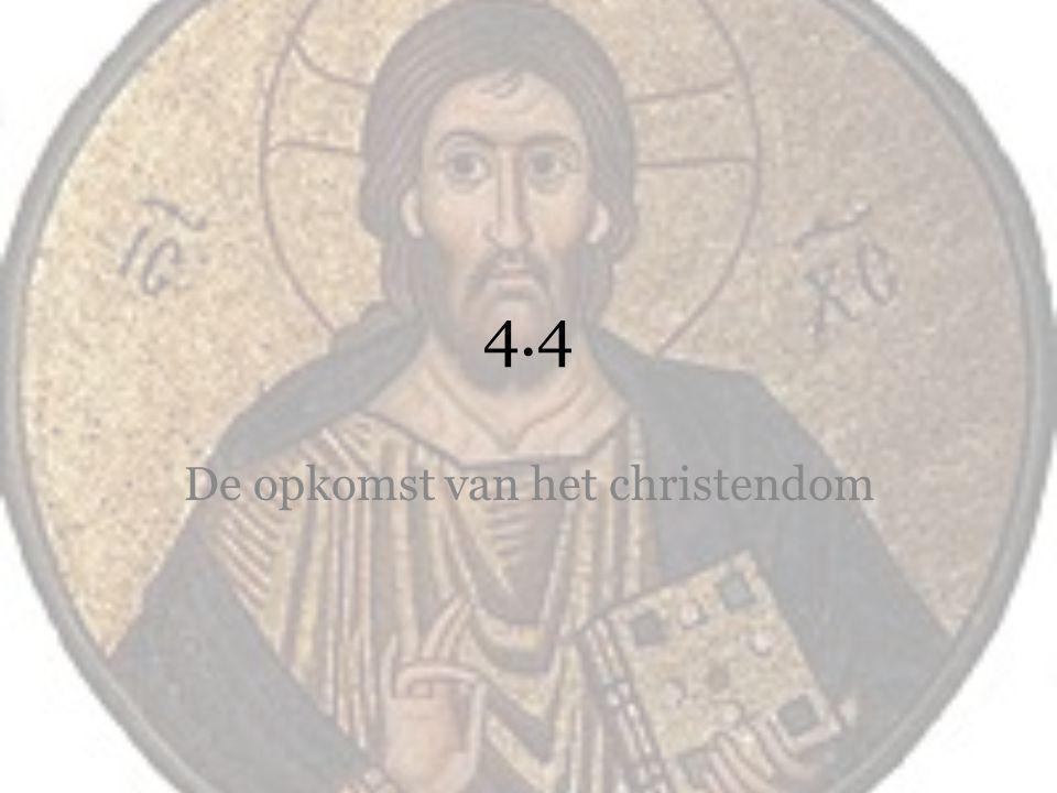 De opkomst van het christendom