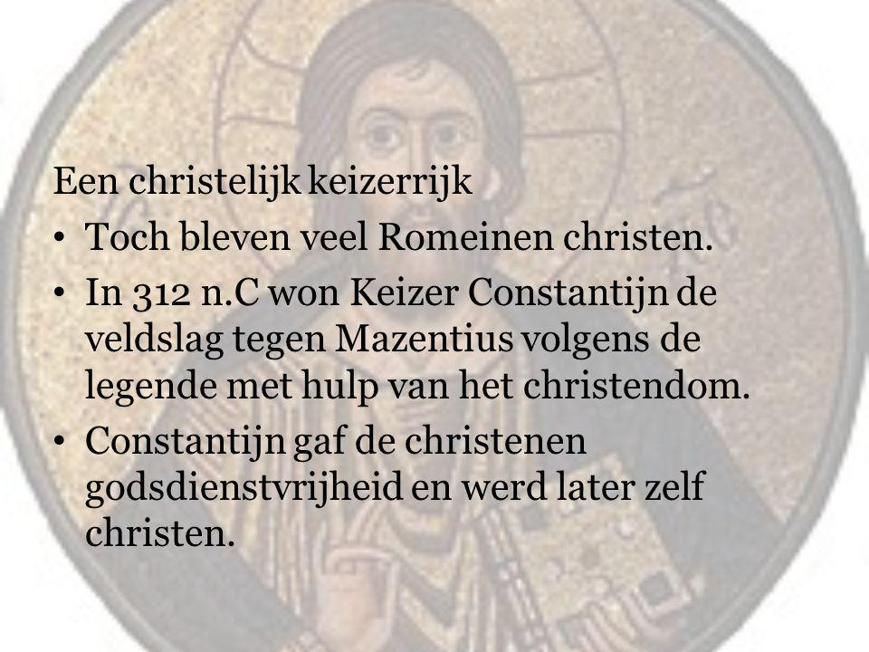 Een christelijk keizerrijk