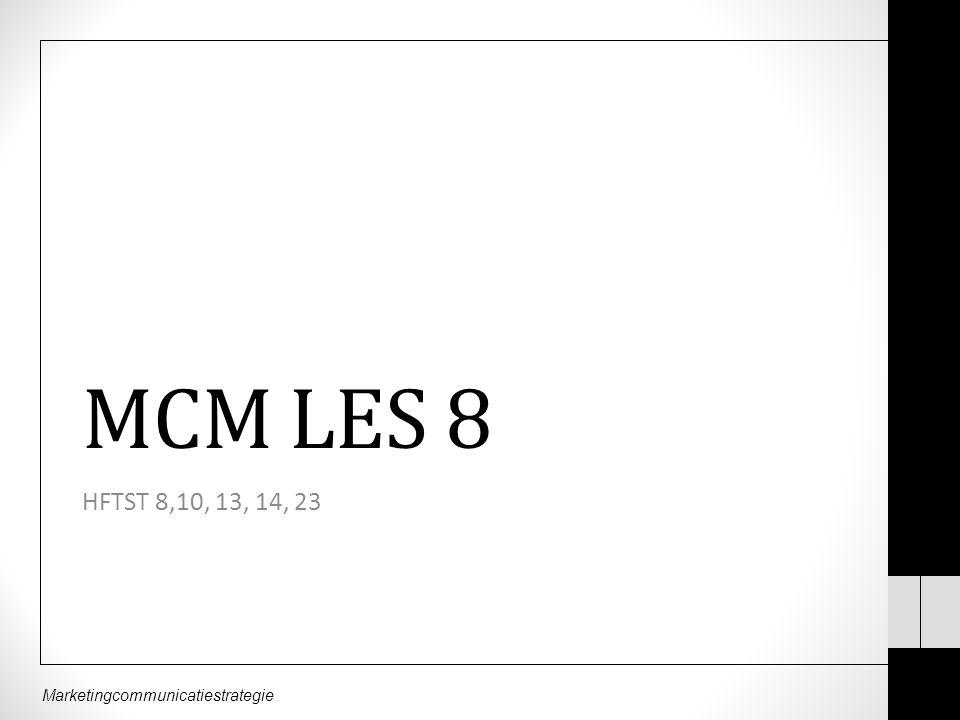 MCM LES 8 HFTST 8,10, 13, 14, 23