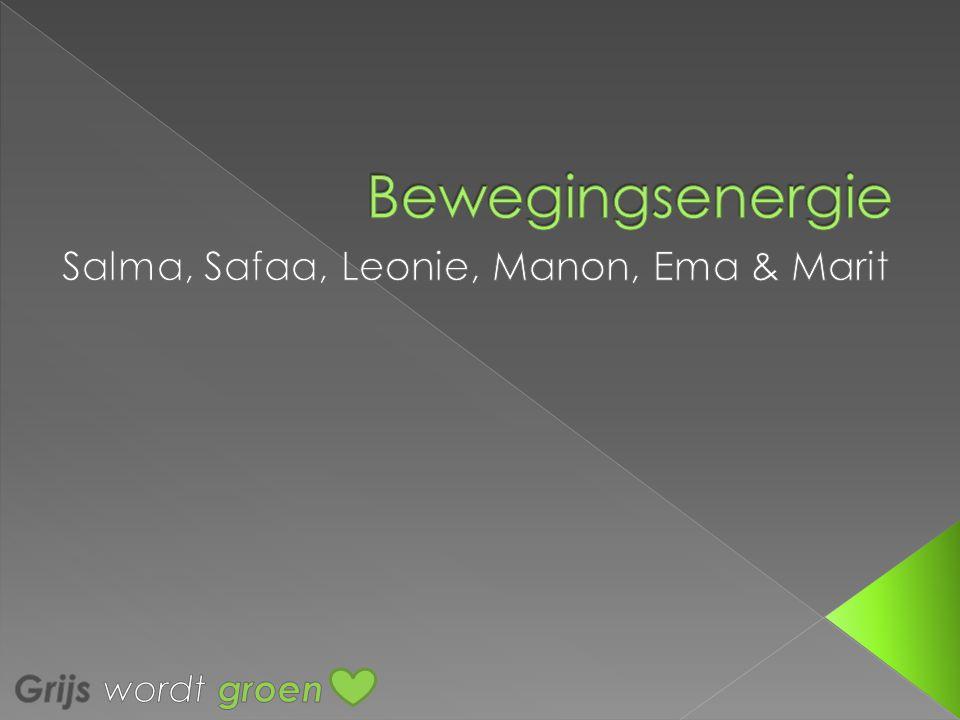 Salma, Safaa, Leonie, Manon, Ema & Marit