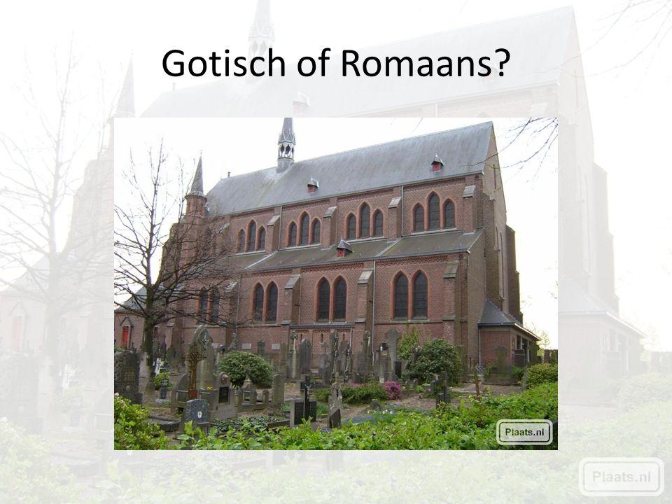 Gotisch of Romaans