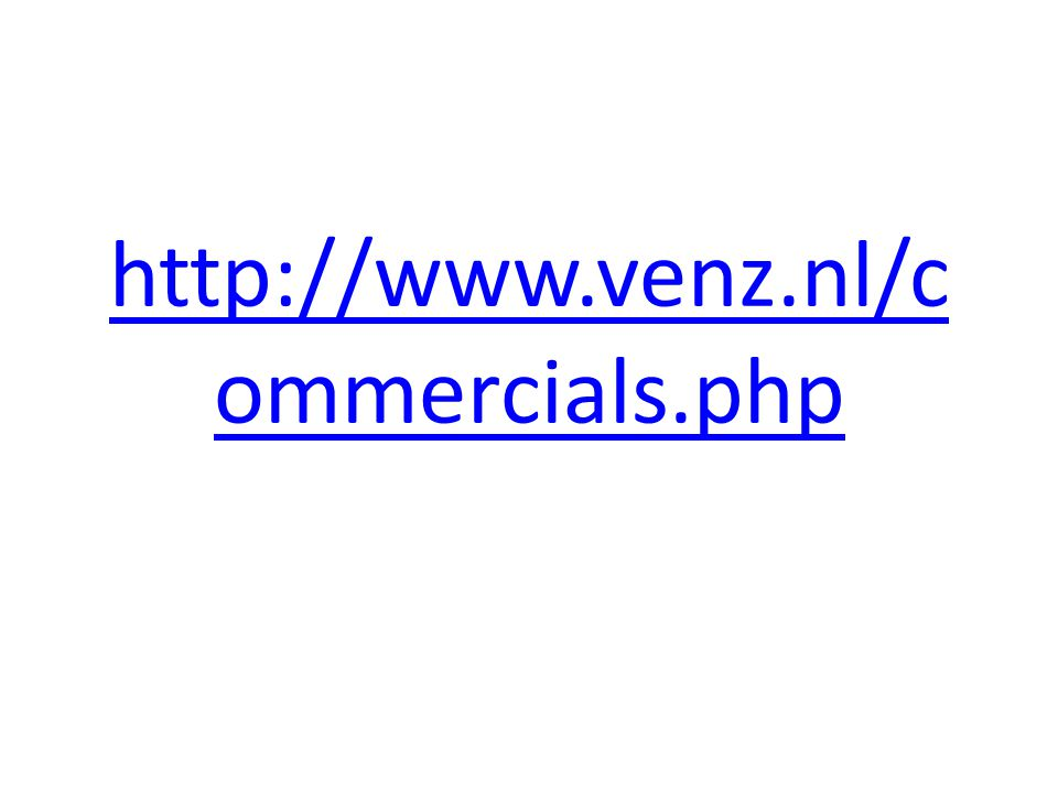 http://www.venz.nl/commercials.php