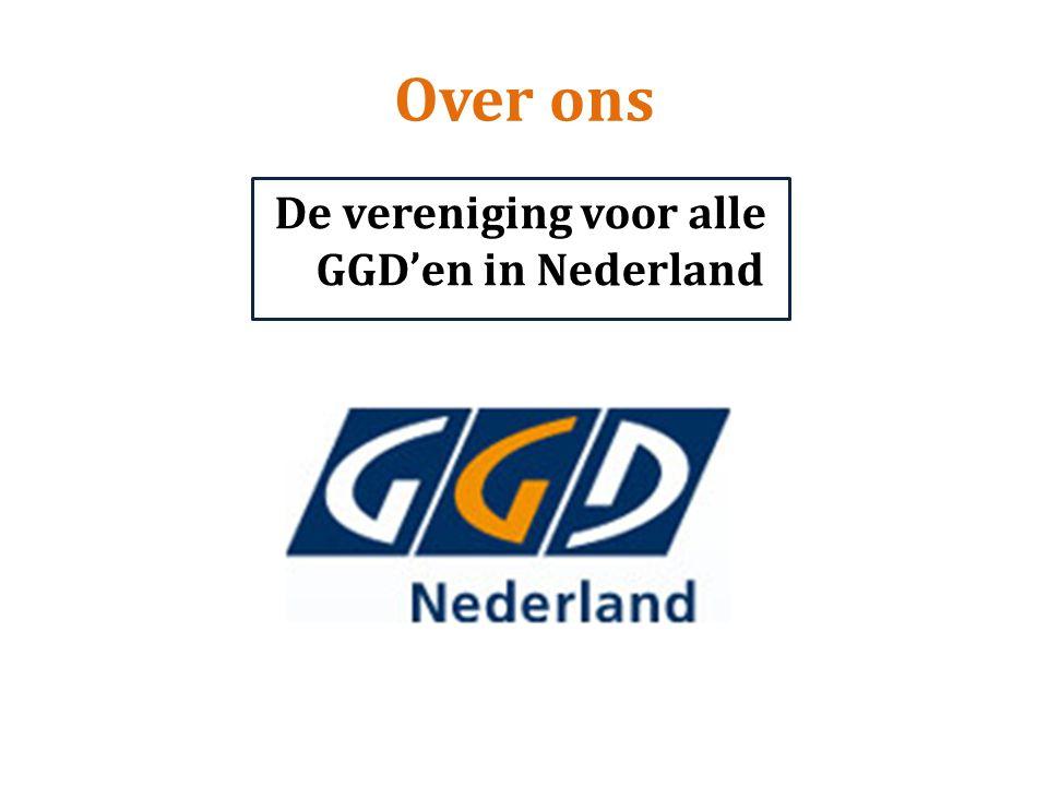 De vereniging voor alle GGD'en in Nederland