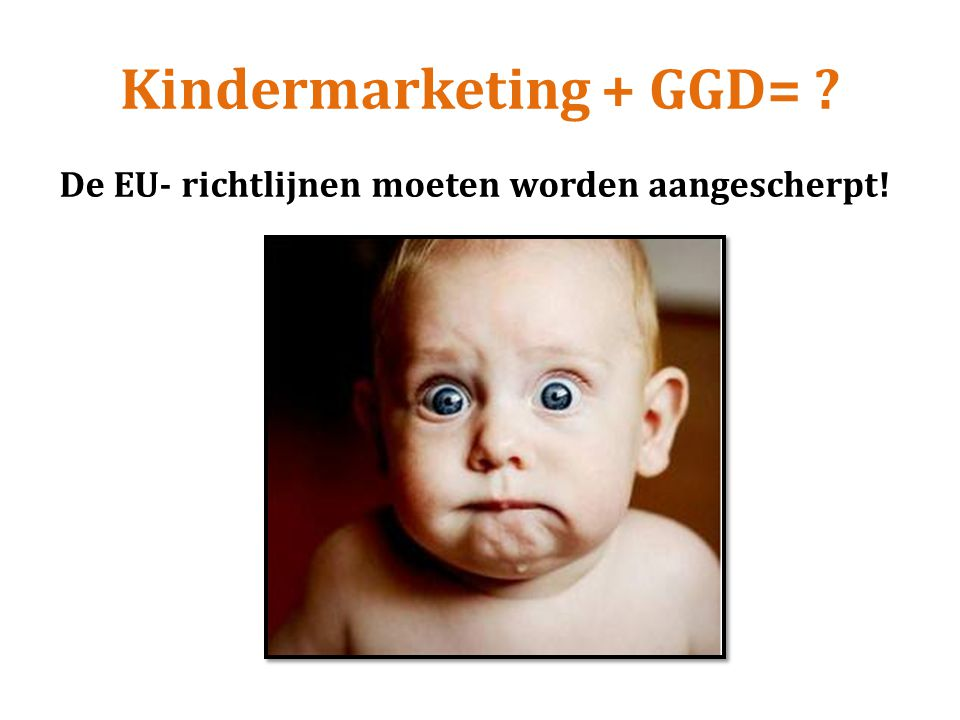 Kindermarketing + GGD=