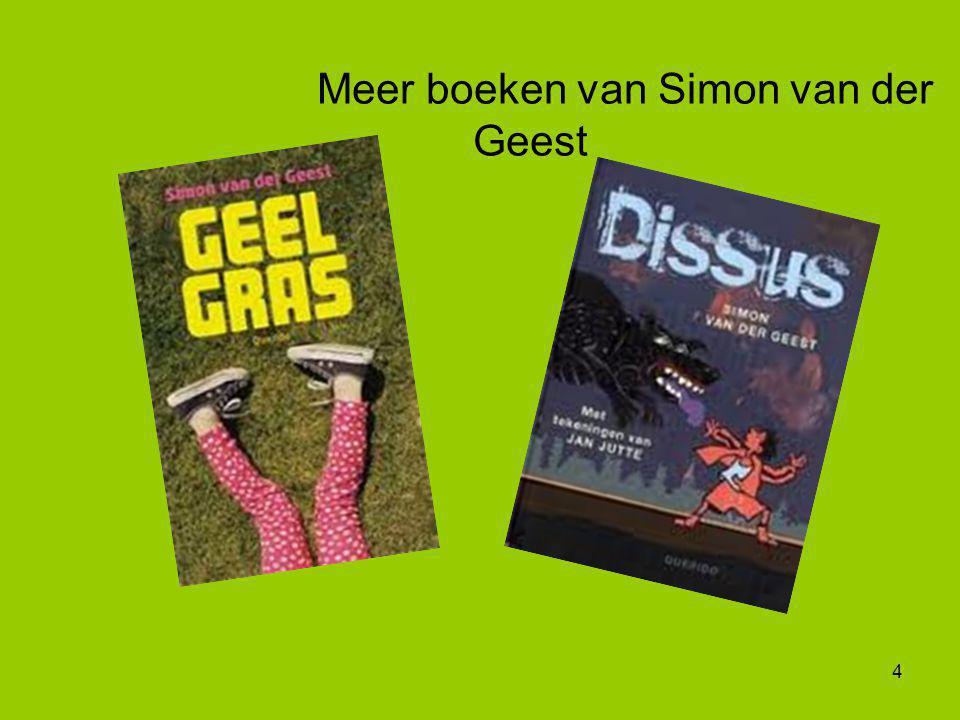 Meer boeken van Simon van der Geest