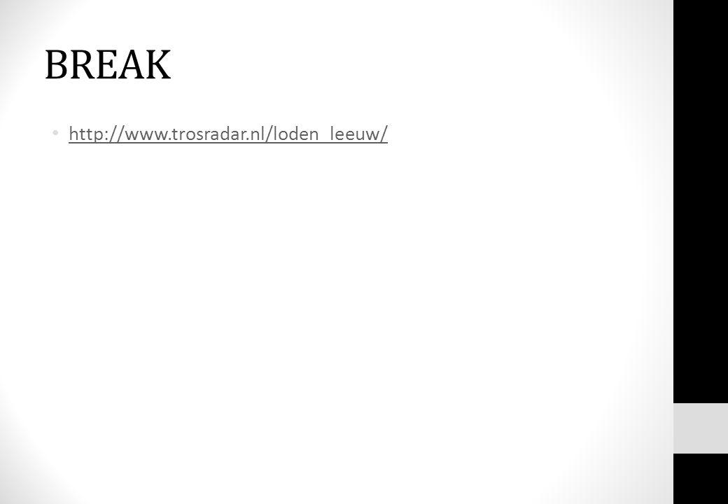 BREAK http://www.trosradar.nl/loden_leeuw/