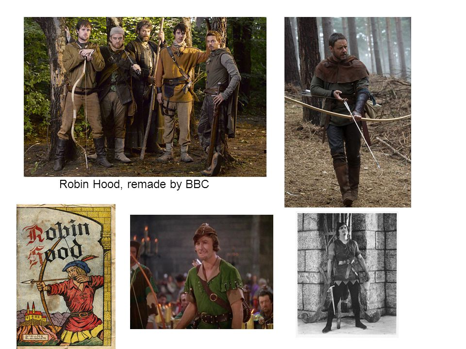 Robin Hood, remade by BBC