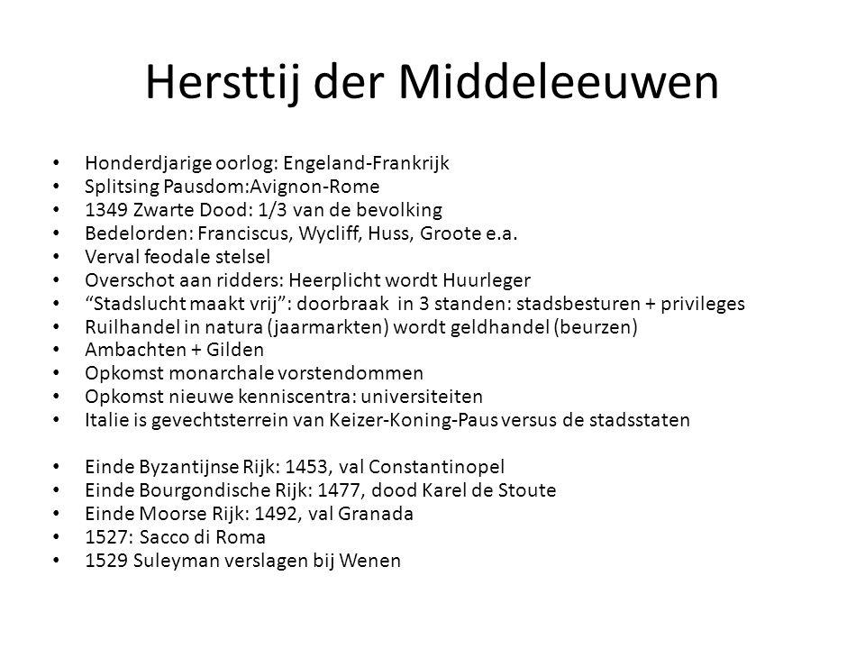Hersttij der Middeleeuwen