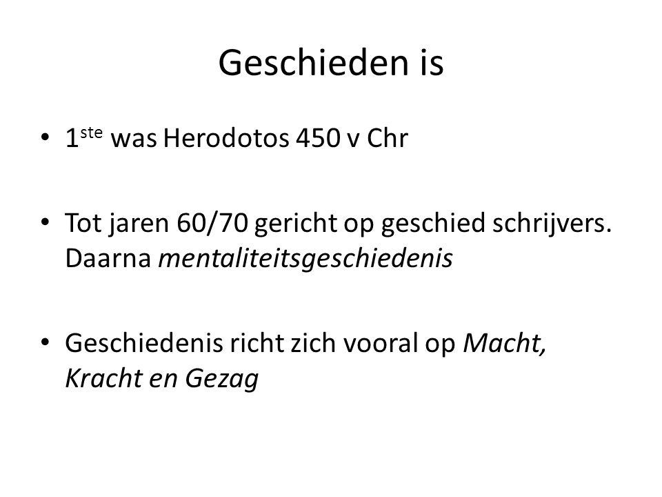 Geschieden is 1ste was Herodotos 450 v Chr
