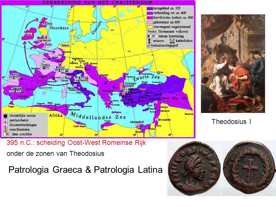 Patrologia Graeca & Patrologia Latina
