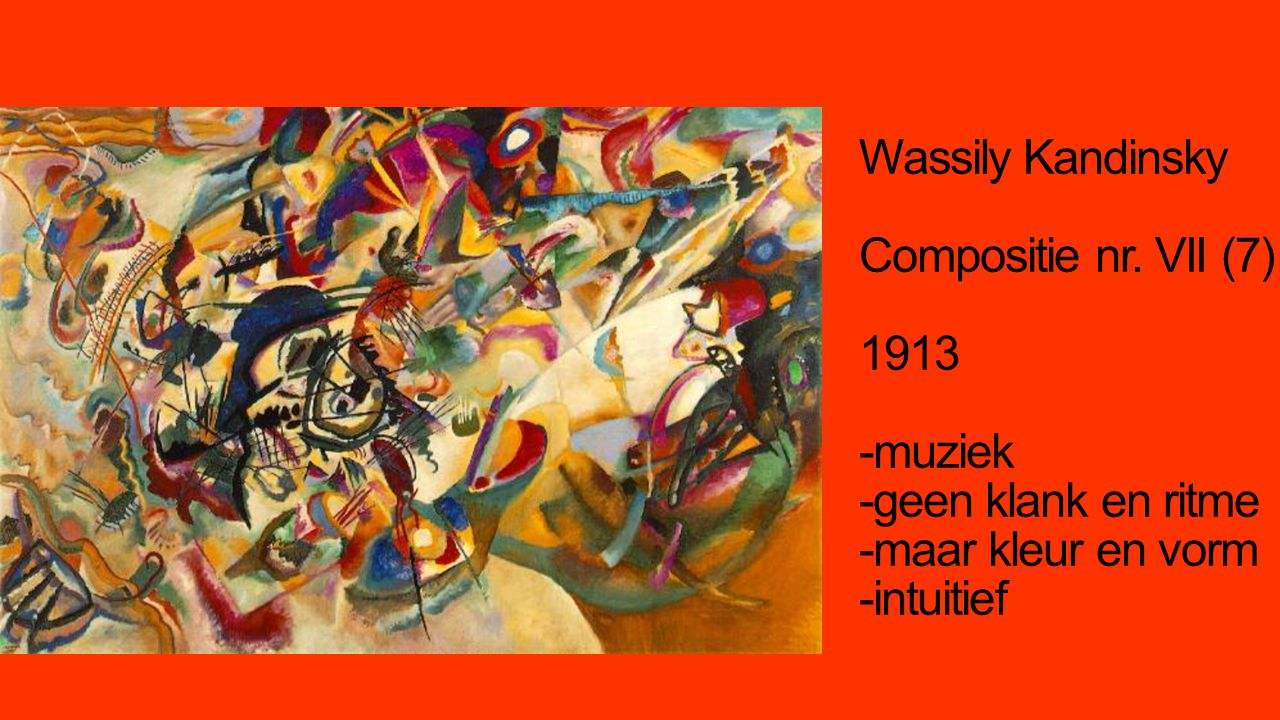 Wassily Kandinsky Compositie nr