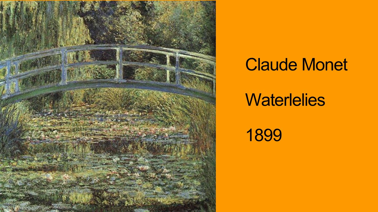 Claude Monet Waterlelies 1899