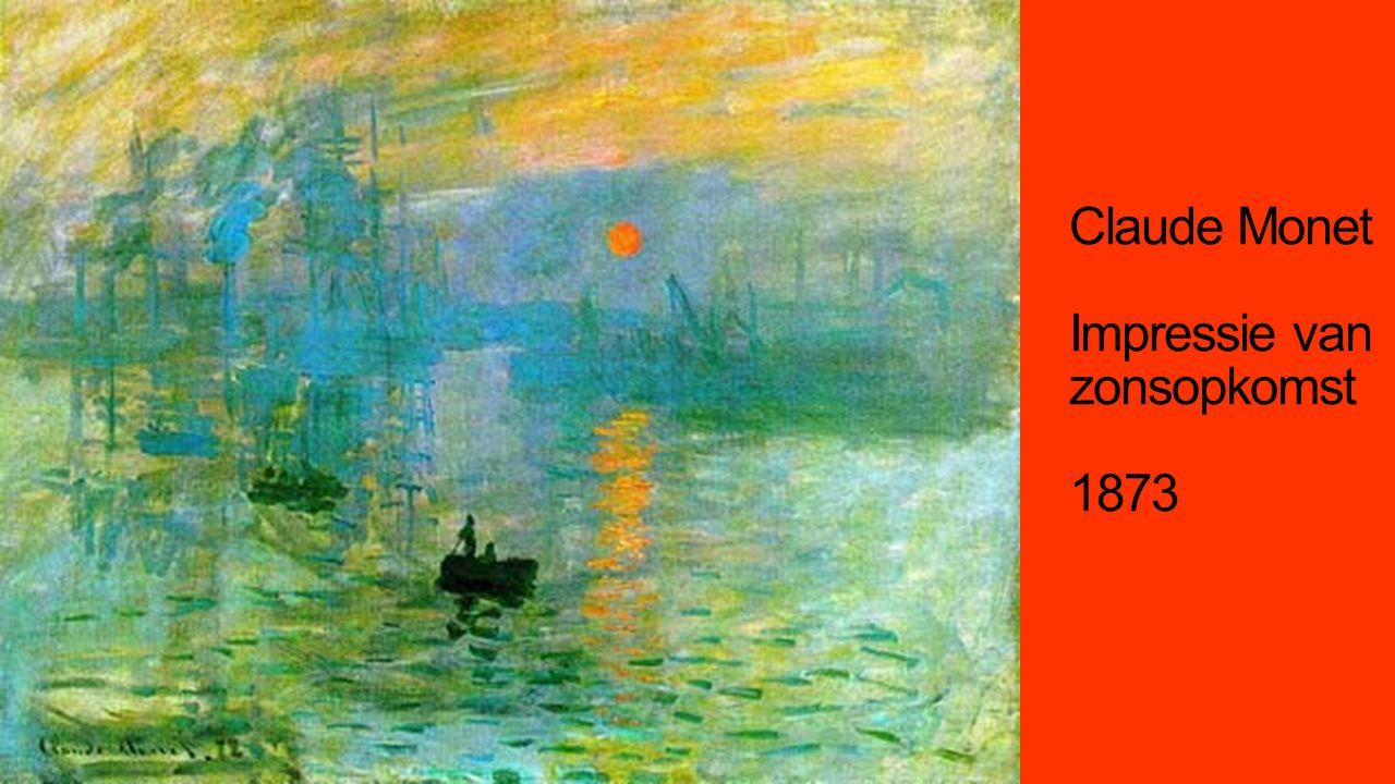 Claude Monet Impressie van zonsopkomst 1873