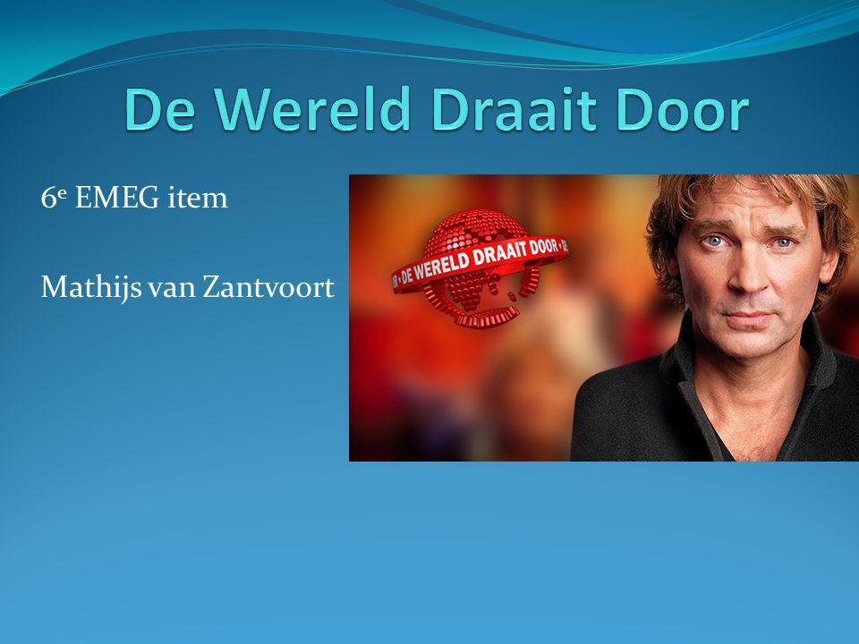 6e EMEG item Mathijs van Zantvoort
