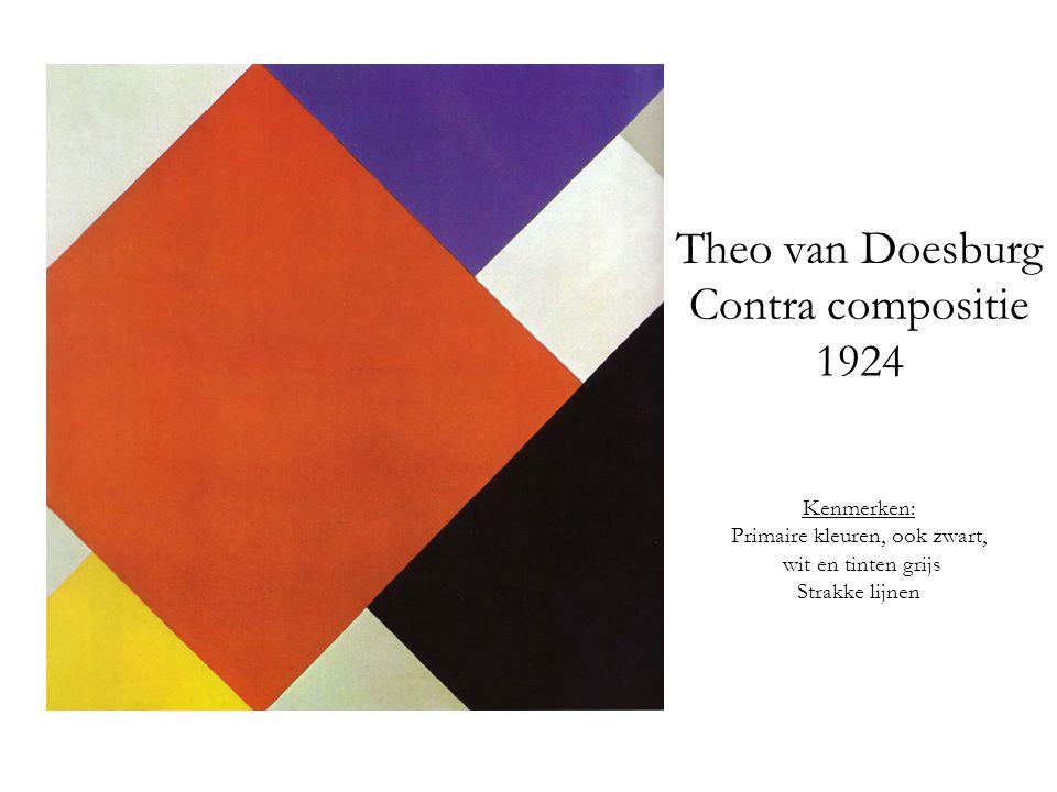 Theo van Doesburg Contra compositie 1924