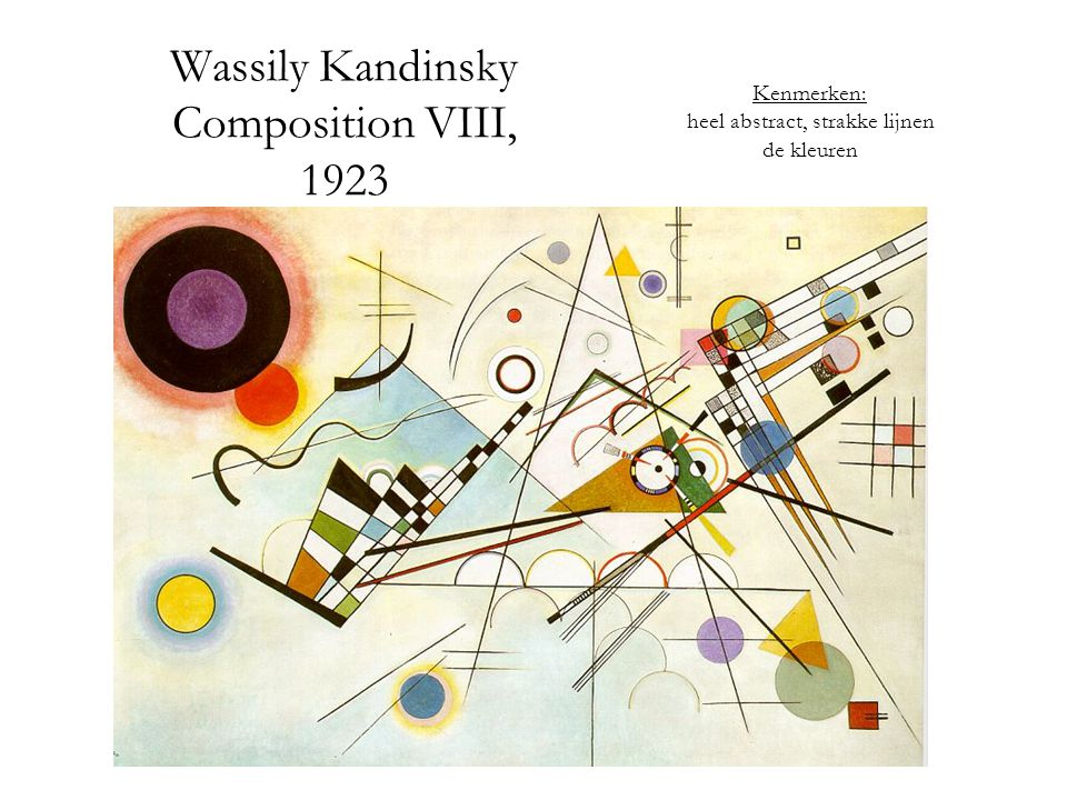 Wassily Kandinsky Composition VIII, 1923