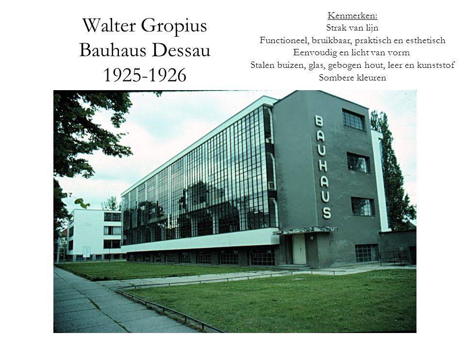 Walter Gropius Bauhaus Dessau 1925-1926