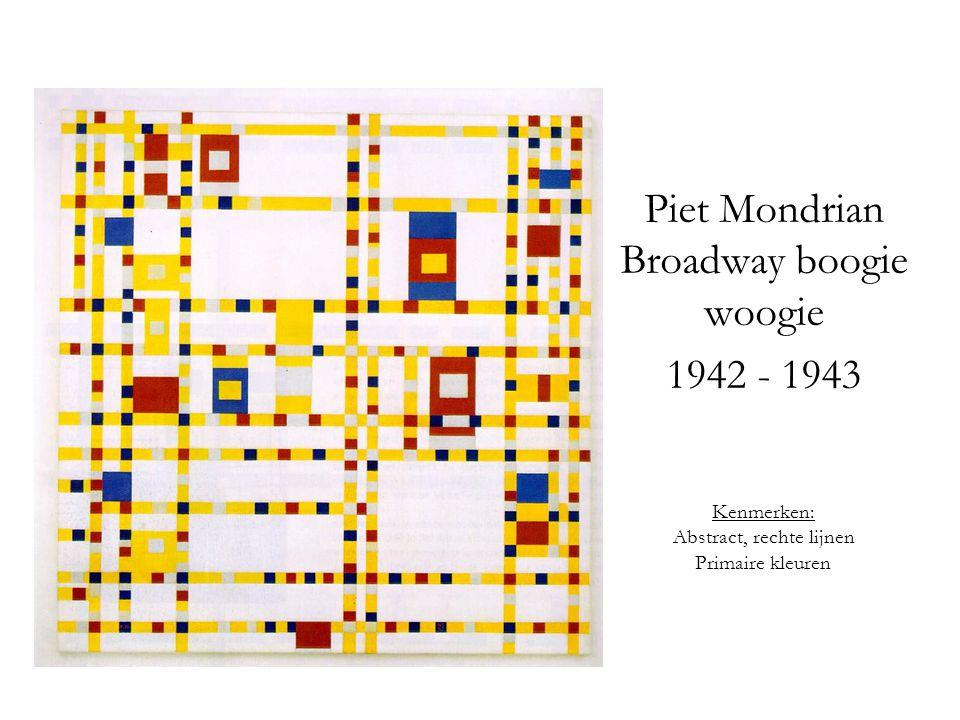 Piet Mondrian Broadway boogie woogie 1942 - 1943