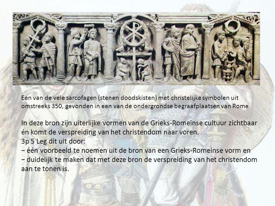 − één voorbeeld te noemen uit de bron van een Grieks-Romeinse vorm en