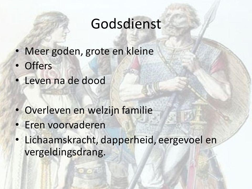 Godsdienst Meer goden, grote en kleine Offers Leven na de dood