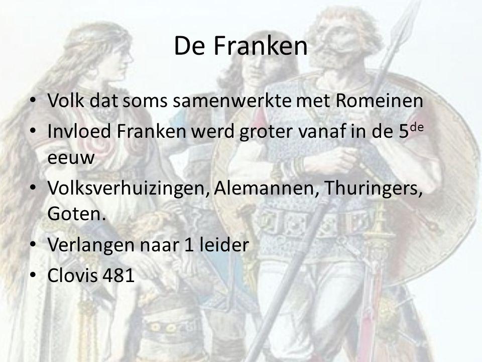De Franken Volk dat soms samenwerkte met Romeinen