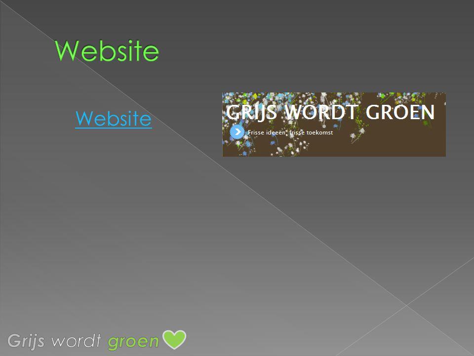 Website Website Grijs wordt groen