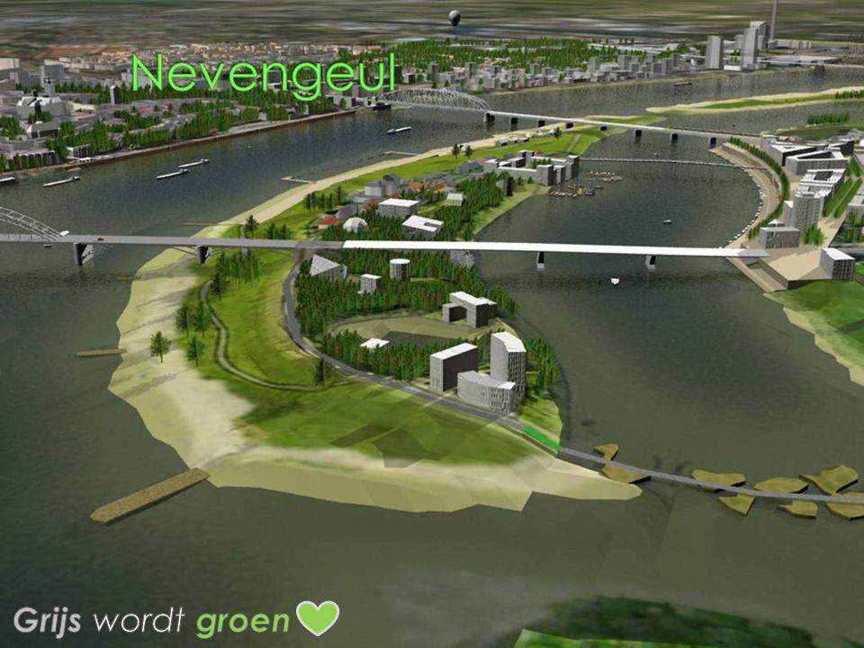 Nevengeul Grijs wordt groen