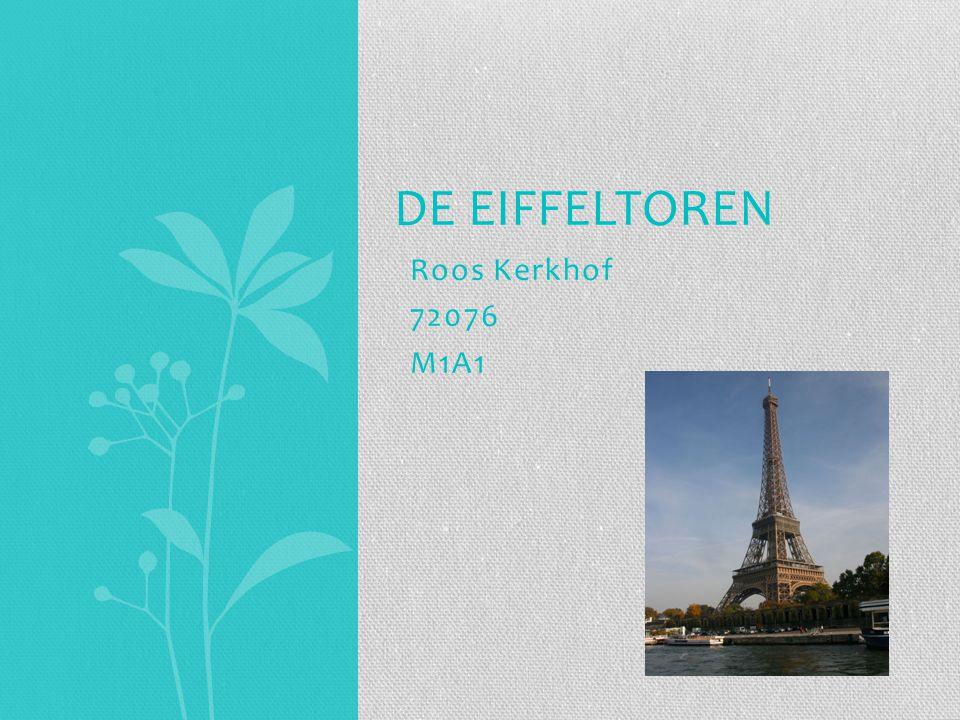De Eiffeltoren Roos Kerkhof 72076 M1A1