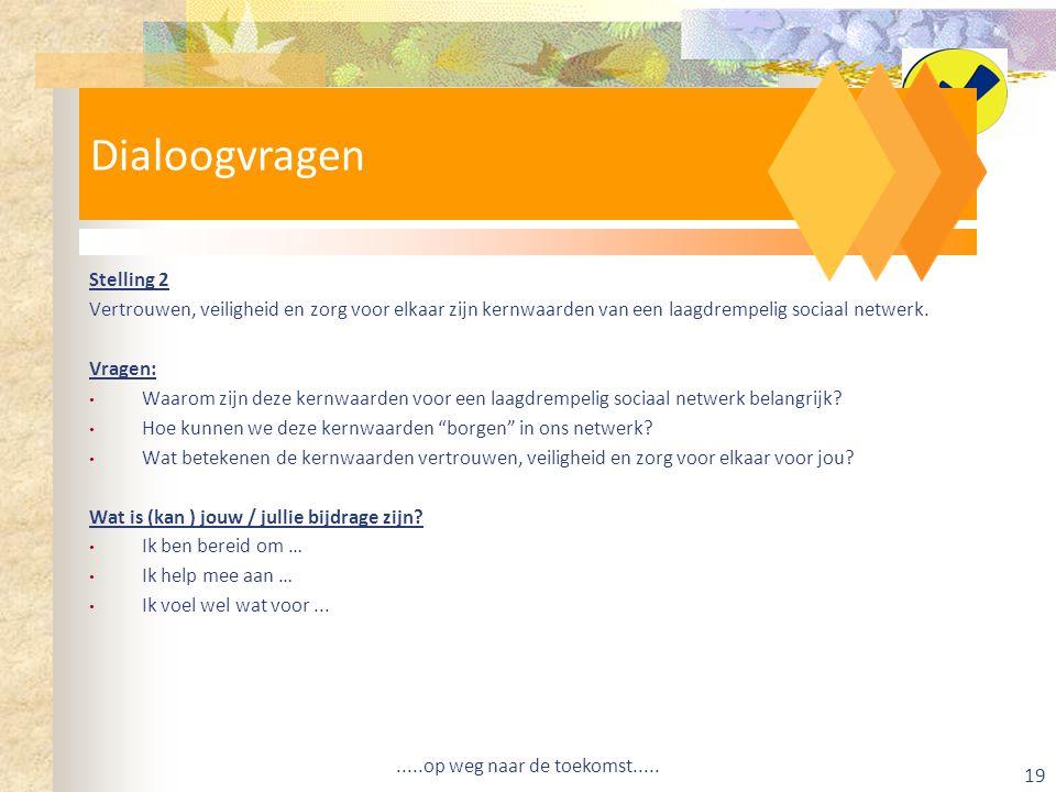 Dialoogvragen Dialoogvragen Stelling 2