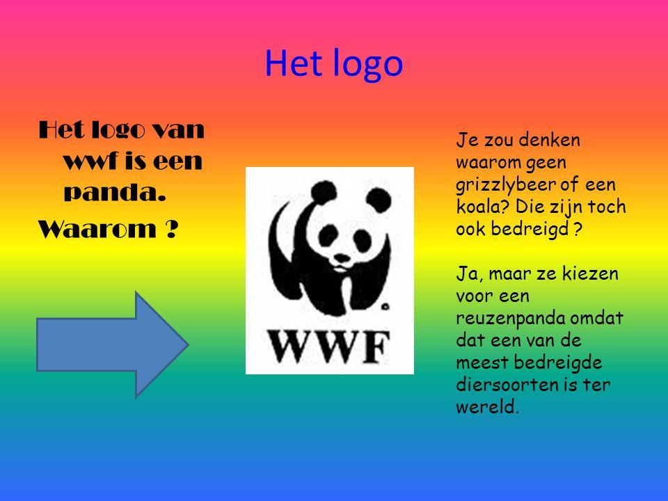 Het logo Het logo van wwf is een panda. Waarom