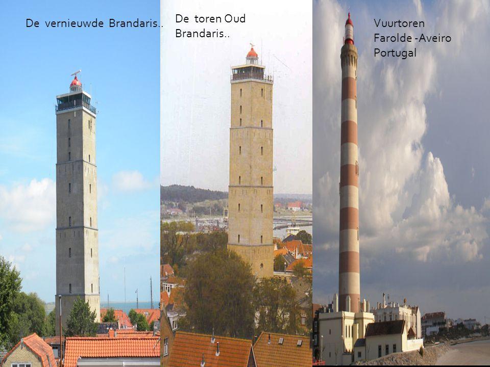 De toren Oud Brandaris.. De vernieuwde Brandaris.. Vuurtoren Farolde -Aveiro Portugal