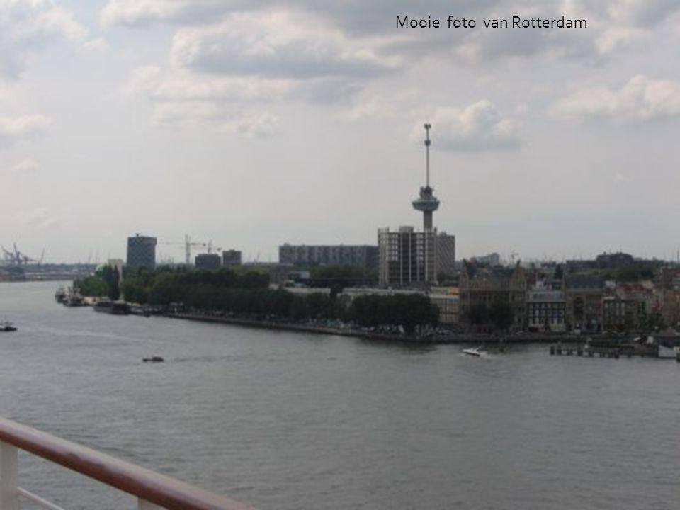 Mooie foto van Rotterdam