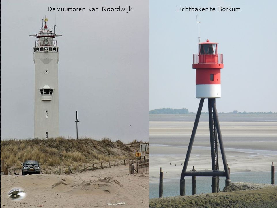 De Vuurtoren van Noordwijk.