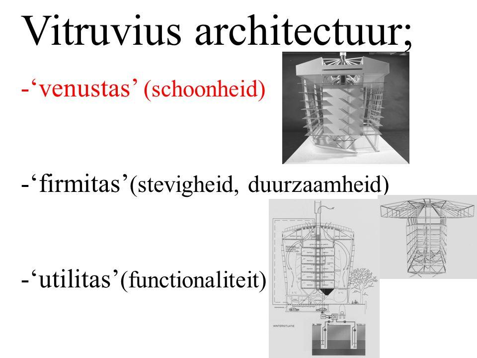 Vitruvius architectuur;
