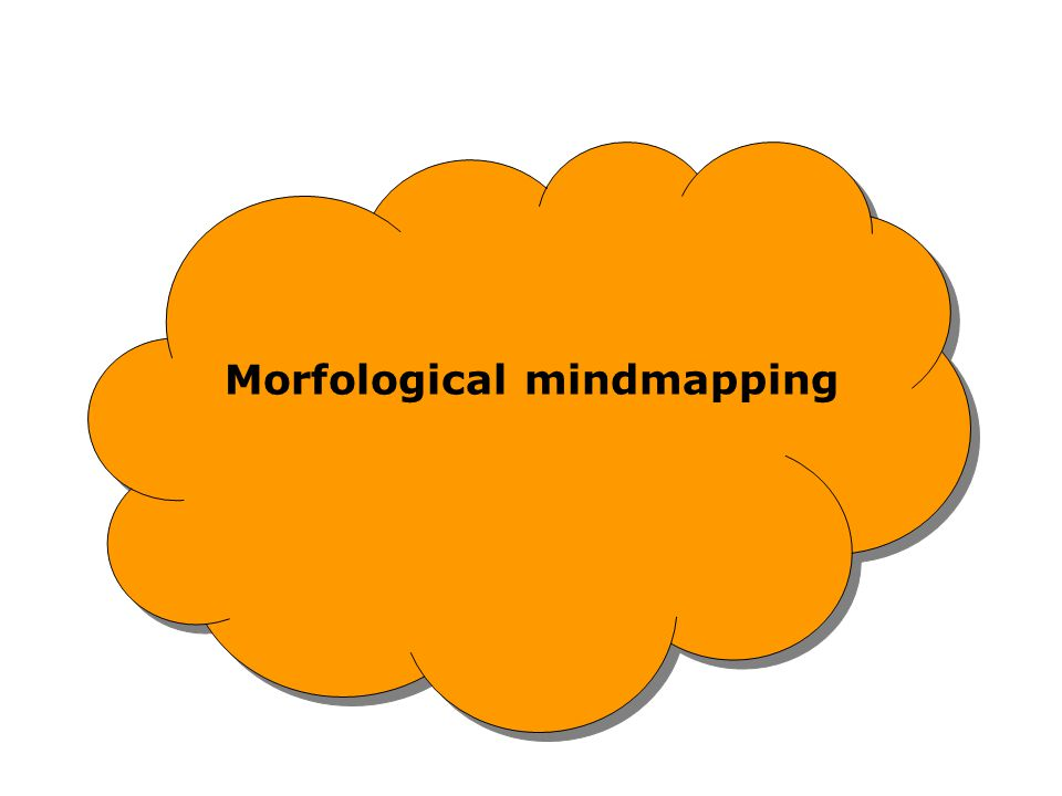 Morfological mindmapping
