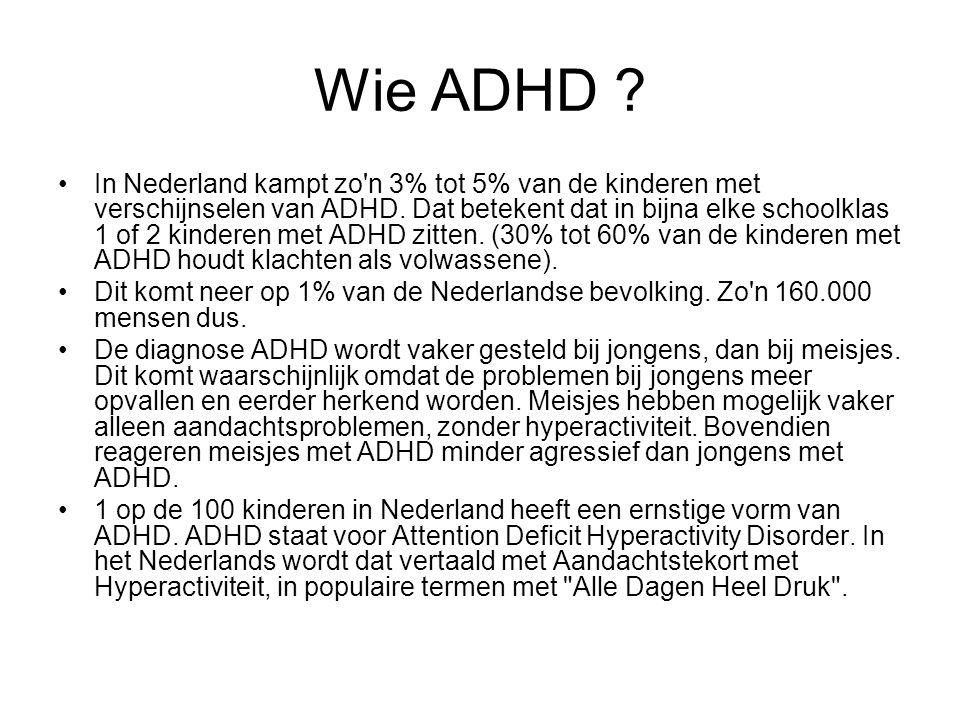 Wie ADHD