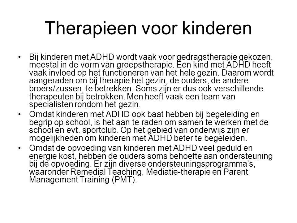 Therapieen voor kinderen