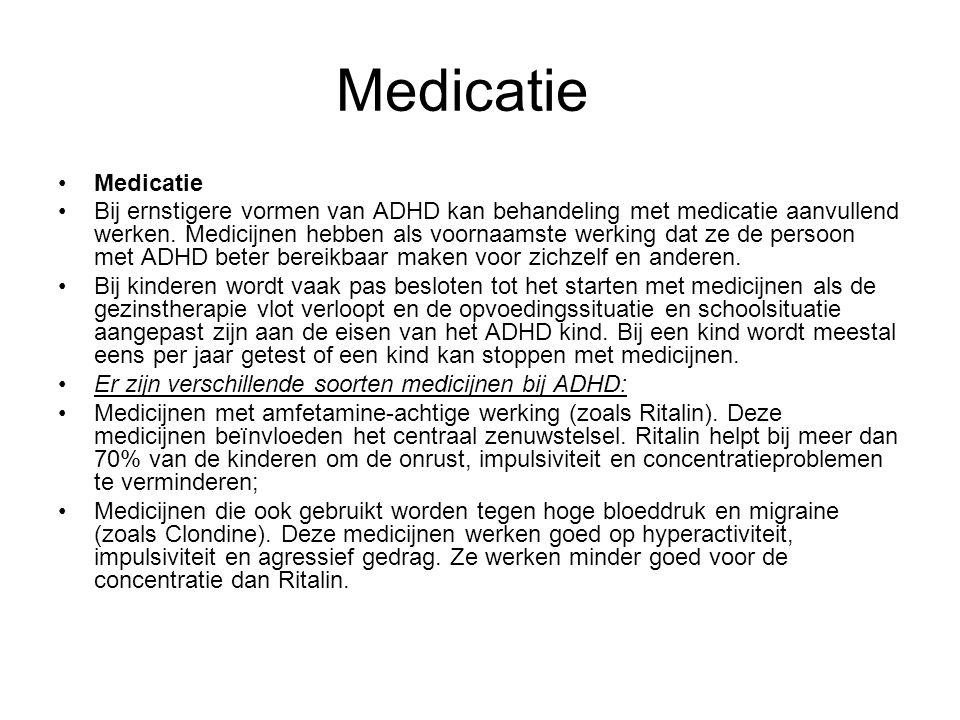 Medicatie Medicatie.