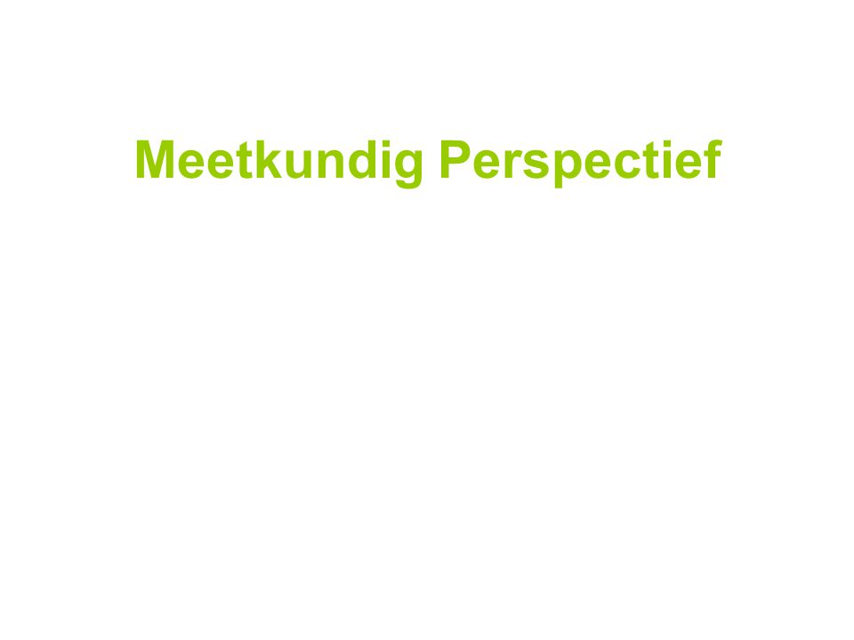 Meetkundig Perspectief