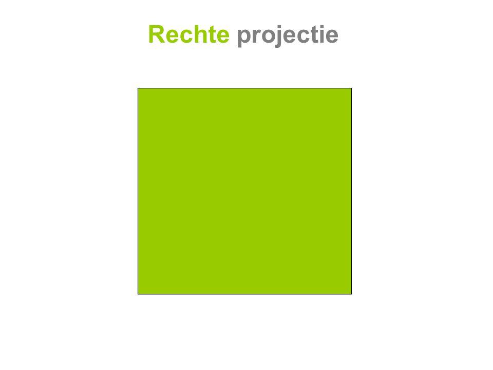 Rechte projectie