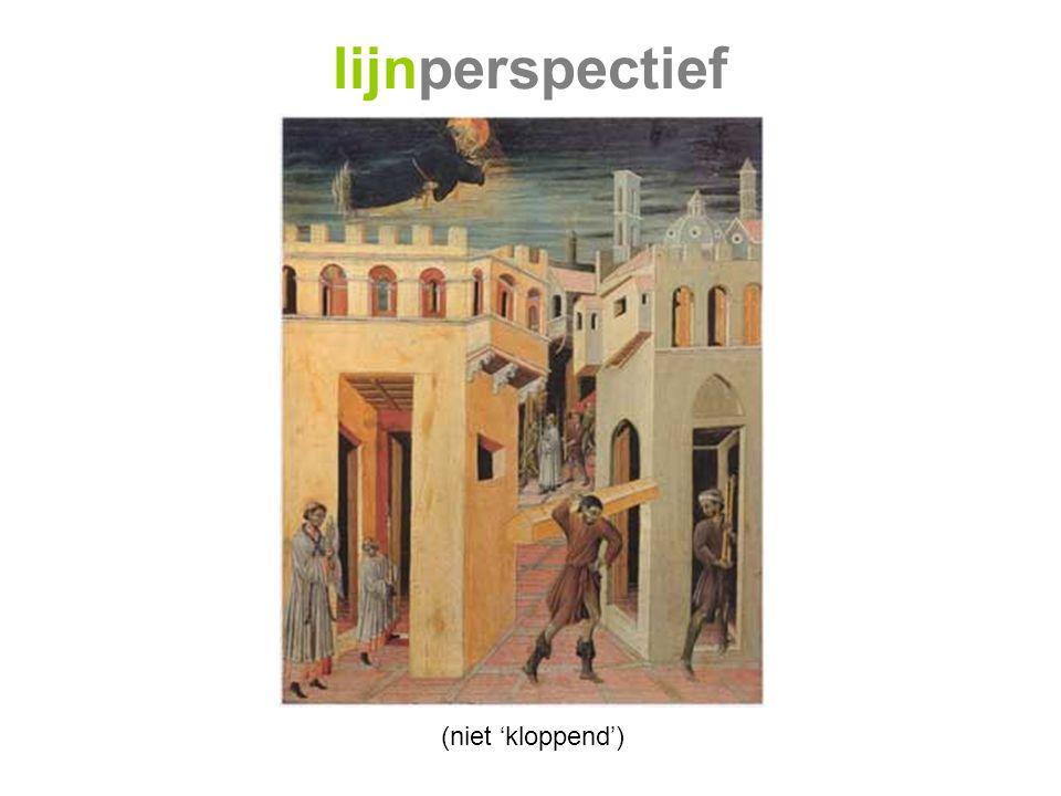 lijnperspectief (niet 'kloppend')