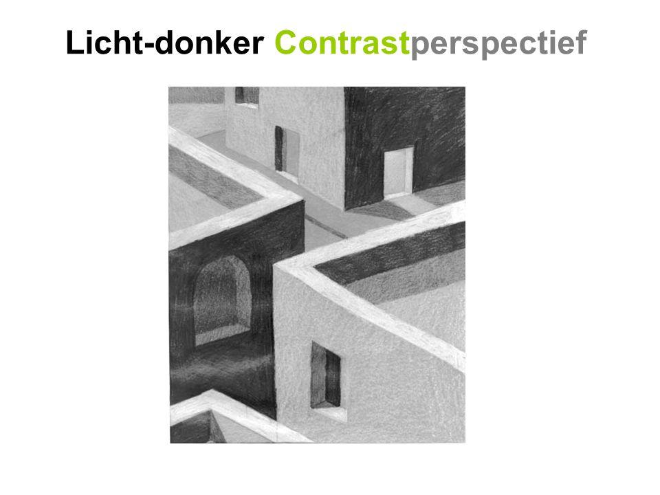 Licht-donker Contrastperspectief