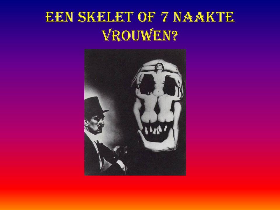 Een Skelet of 7 naakte vrouwen