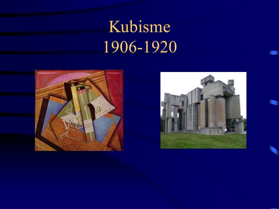 Kubisme 1906-1920
