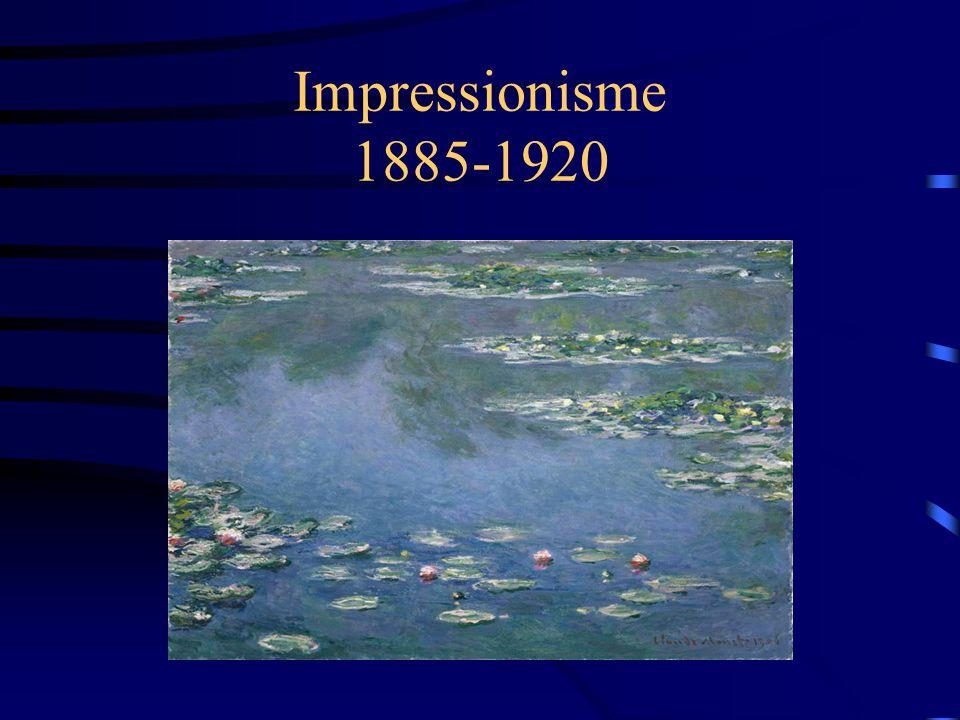 Impressionisme 1885-1920