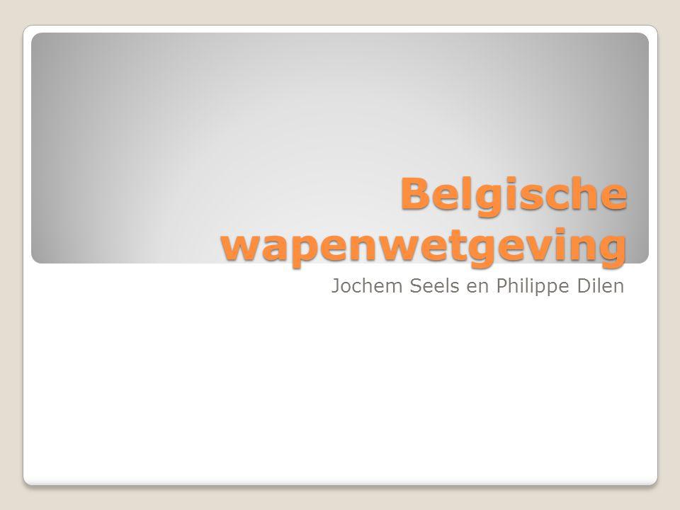 Belgische wapenwetgeving